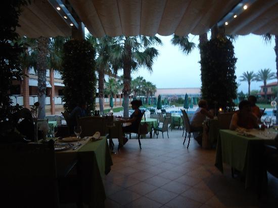 Hotel Clipper & Villas: vista desde el comedor