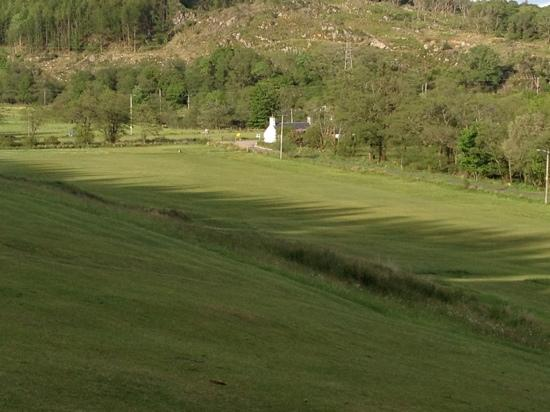 Tarbert Golf Club: view from the 7th