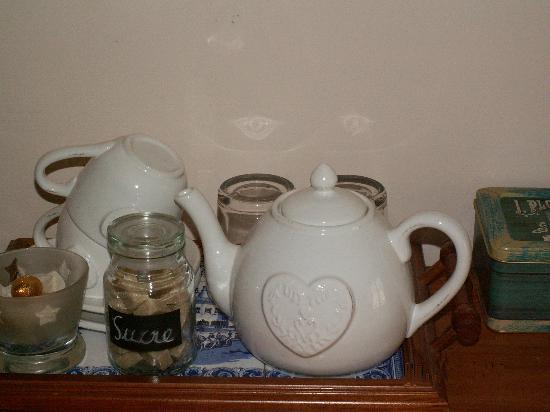 Dodo et Tartines: L'heure du thé de la chambre Marines