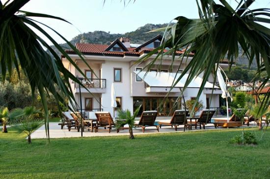 Gocek Arion Hotel: Garden view