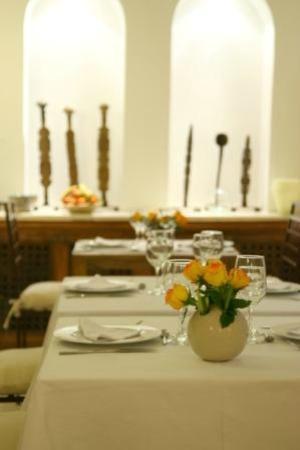 Riad Cherrata: Salle à manger