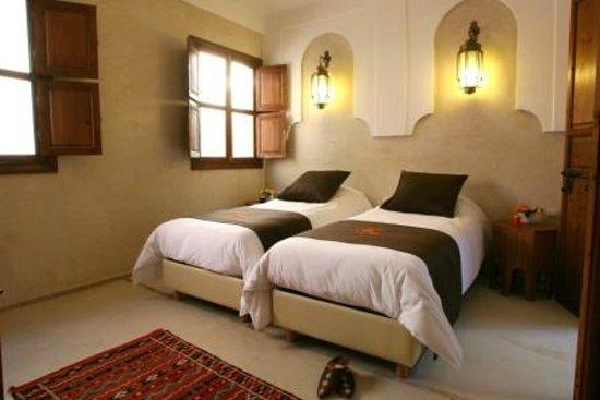 Riad Cherrata: Chambre STUCK - 1er étage