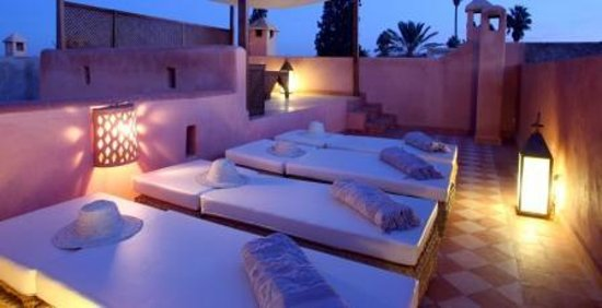 Riad Cherrata: 2ème terrasse - Solarium