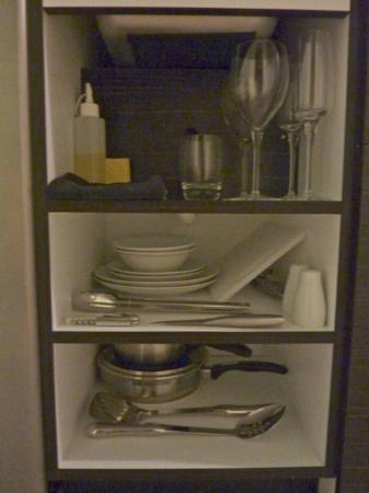 Queenstown Park Boutique Hotel: Kitchen equipment