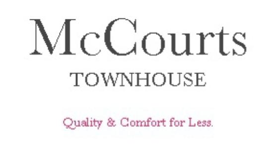 McCourts Townhouse: Welcome!