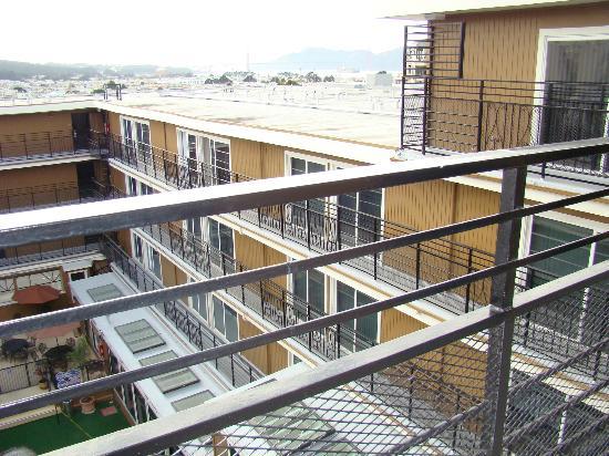 da Vinci Villa: balcon