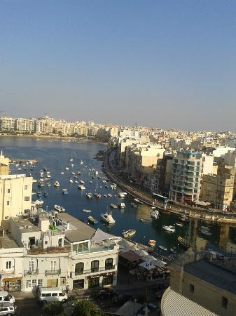 Argento Hotel: Panorama dal tetto