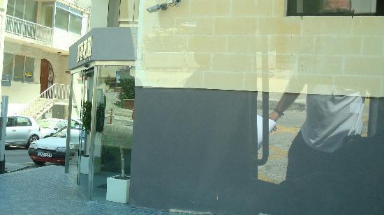 Argento Hotel : L'entrata