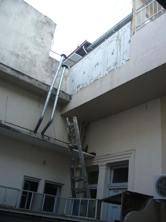 Gran Hotel Libertad:                   Terracita de la habitacion-appart 211