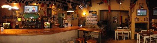 The Barn Pub & Restaurant: The famous petrol-head bar.