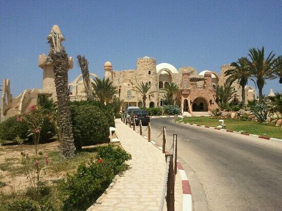 Club Diana Rimel Djerba: Arrive dans l'hotel