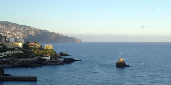 Madeira Regency Cliff: View from the terrace