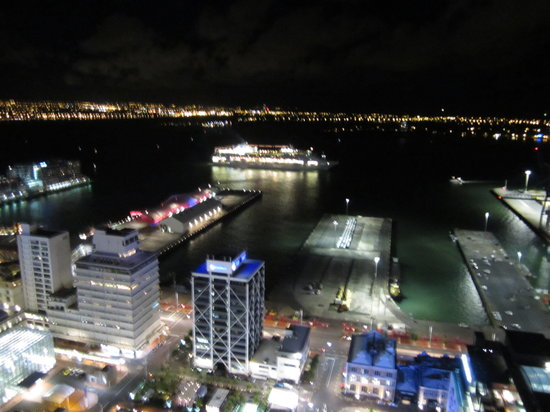 Auckland Harbour Oaks: View from our room