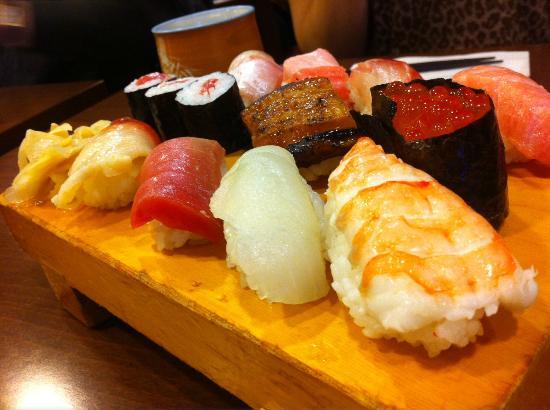 Yabase: Sushi Moriawase