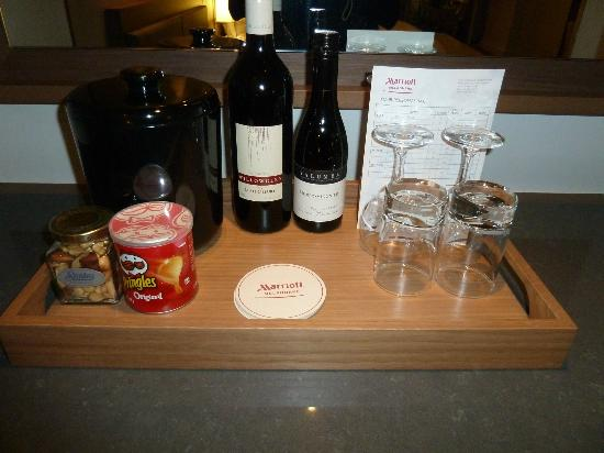 Melbourne Marriott Hotel: Goodies