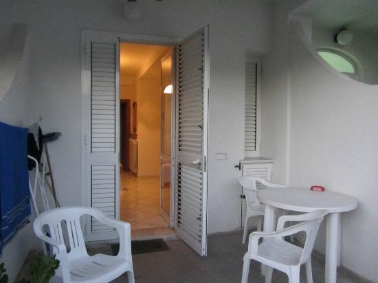 Hotel Residence Villa Teresa: Camera + terrazzino