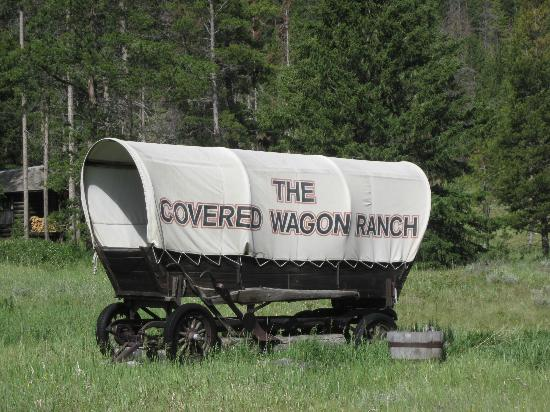 Covered wagon ranch just remember this name when you are looking for