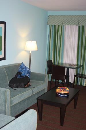 Holiday Inn Hotel & Suites - Ocala Conference Center: living area-- separate TV