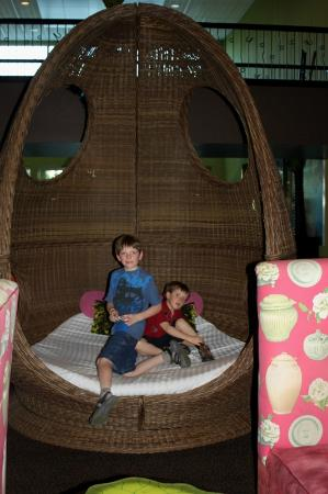 Holiday Inn Hotel & Suites - Ocala Conference Center: giant egg chair