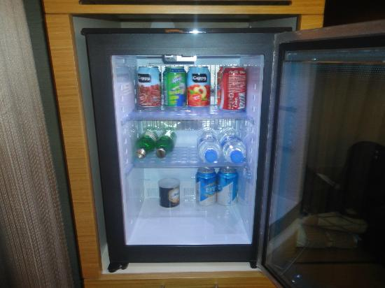 Riva Hotel: mini fridge