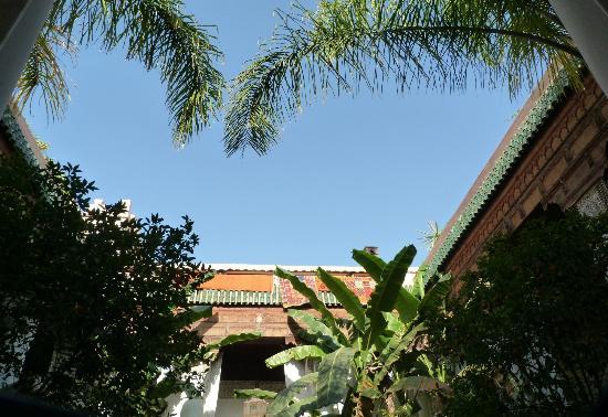 Riad Slitine: Courtyard