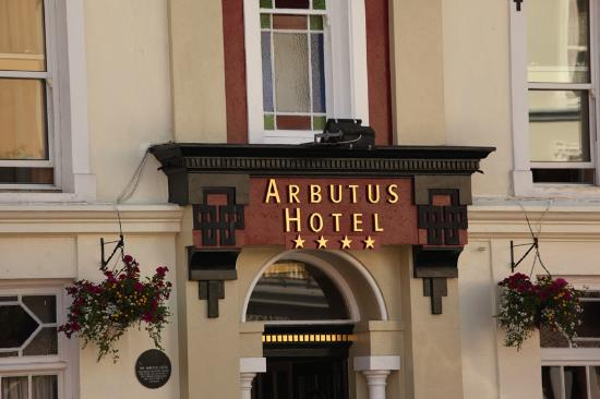 Arbutus Hotel: Welcome