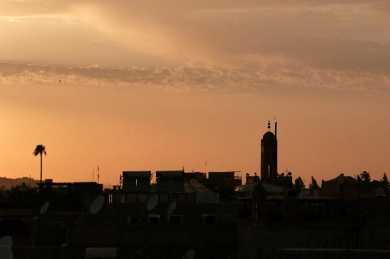 Riad Slitine: Sunset view from roof