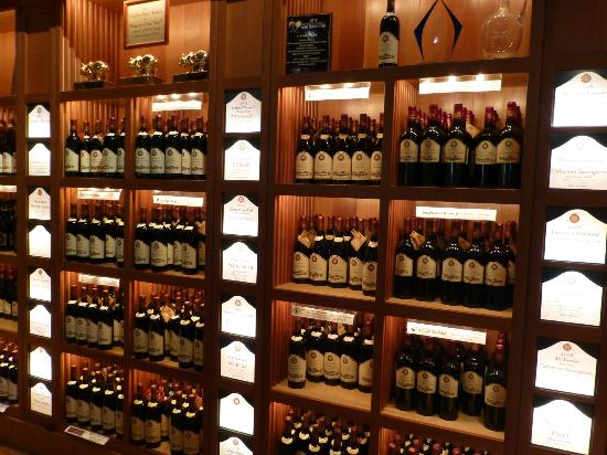 V. Sattui Winery: Just some of the wines we tasted!