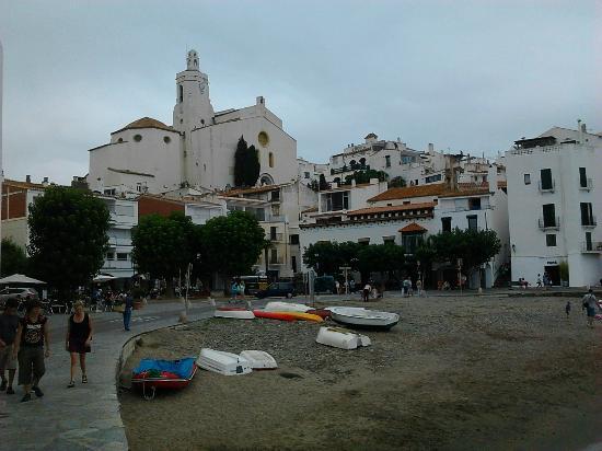 Esglesia de Santa Maria : la chiesetta vista dalla baia