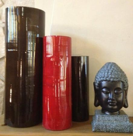 Au Pavillon Bleu : Détail zen...