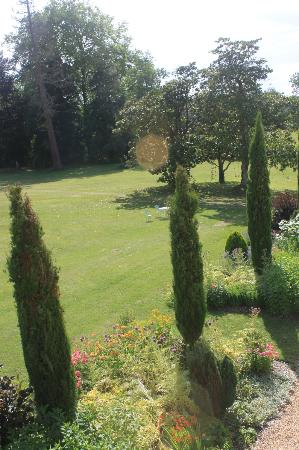 Chateau Le Mas de Montet: View from Bedroom