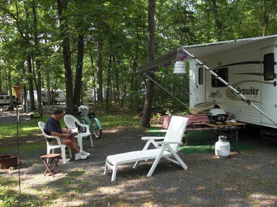 Drummer Boy Camping Resort: Resting after Gettysburg