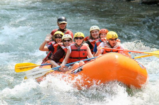 Montana Whitewater Raft Company: Rafting on the Gallatin River