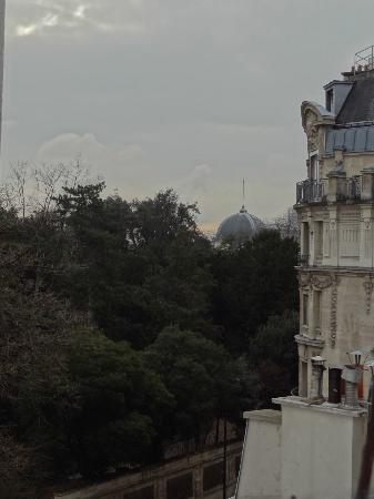 Timhotel Jardin des Plantes: View from the roof terrace.