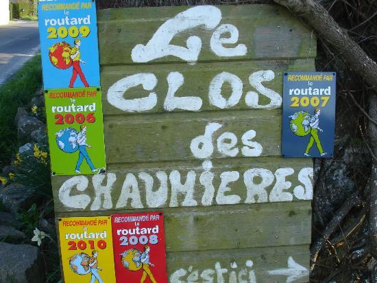 Le Clos des Chaumieres : Bienvenue au clos des chaumières