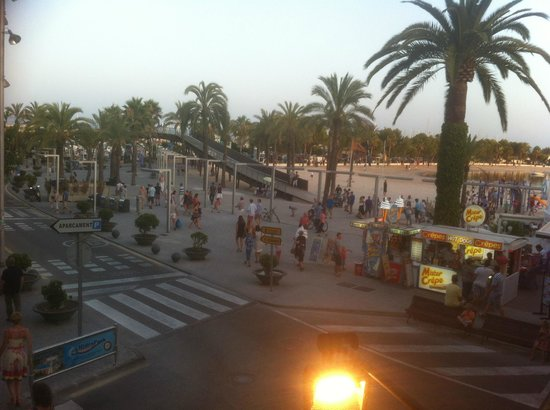 Dakota Tex Mex (Puerto de Alcudia): View from upstairs outside seating area