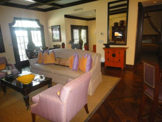 The Brazilian Court Hotel: Living room and Entry way