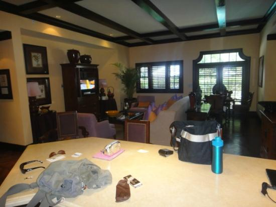 The Brazilian Court Hotel: Living Room/Dining Room