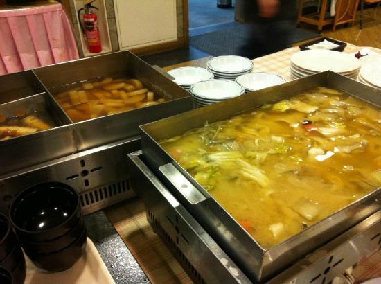 Tominoko Hotel: oden & houtou