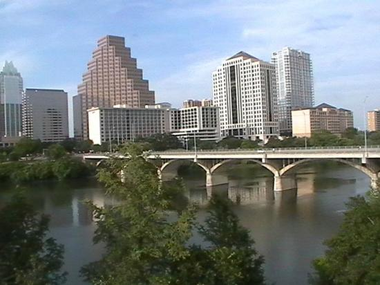 Hyatt Regency Austin: view from 3rd floor room