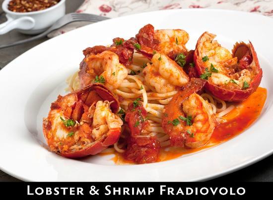 Cantina Mamma Lucia: Lobster and Shrimp Fradiovolo