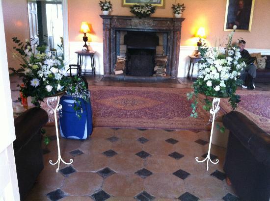 Shapwick House Hotel: reception