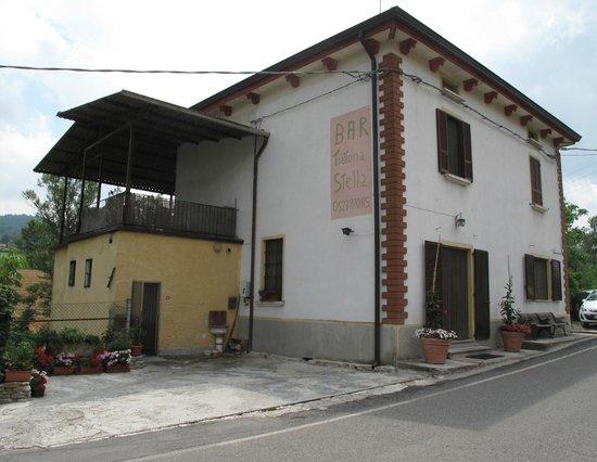 Piozzano, Италия: Trattoria Stella vista esterna