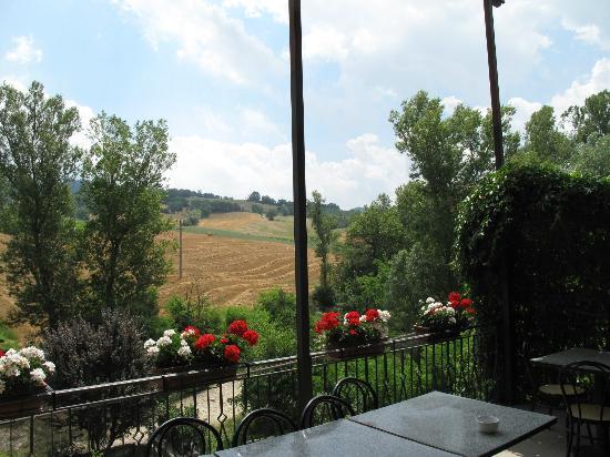Trattoria Stella : vista dalla terrazza