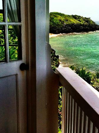 Paya Bay Resort: Cliff side room 4 view