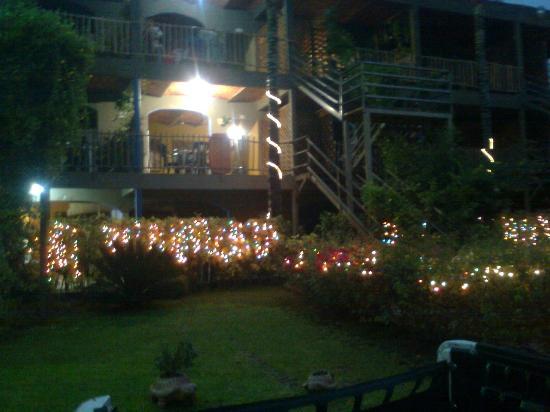 Las Cabanas del Capitan: La iluminación