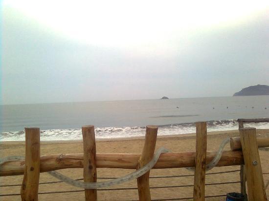Las Cabanas del Capitan: Vista desde el yacussi