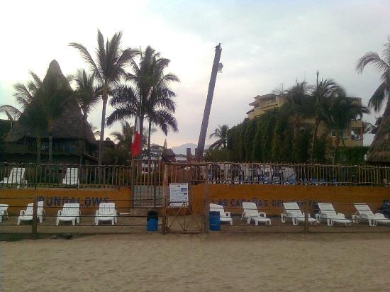 Las Cabanas del Capitan: la playa