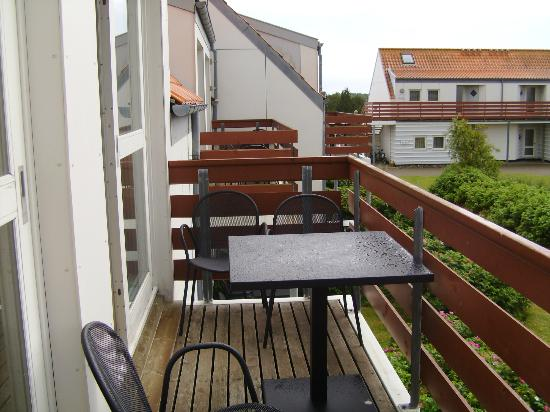 Color Hotel Skagen : Balkon
