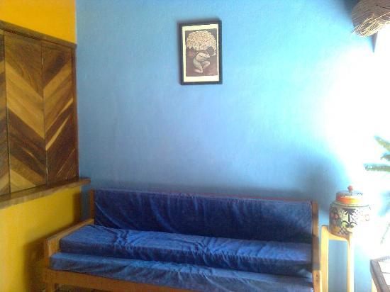 Las Cabanas del Capitan: la sala